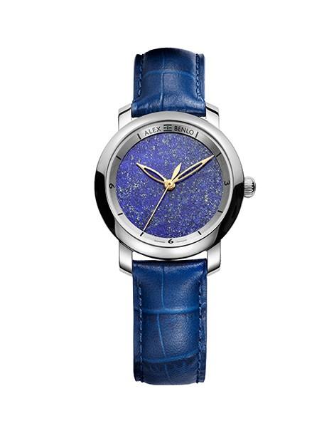 lapis lazuli 32mm alex benlo natural stone watches online